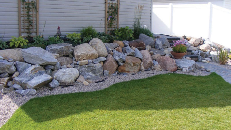 Landscaping Rock At Menards : Landscaping services woodworking water features
